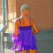 Одежда ручной работы. Ярмарка Мастеров - ручная работа Шикарное коктейльное платье. Handmade.