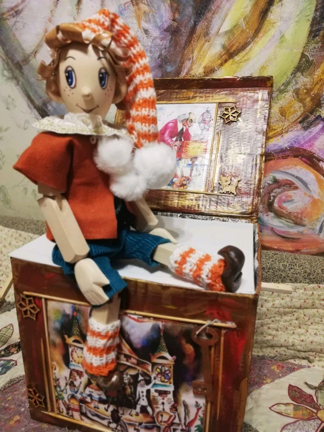 Буратино(деревянный), Куклы и пупсы, Сергиев Посад,  Фото №1