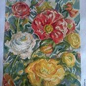 Картины и панно ручной работы. Ярмарка Мастеров - ручная работа акварельные розы. Handmade.