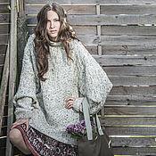 Одежда handmade. Livemaster - original item Women`s heathered sweater in country style. Handmade.