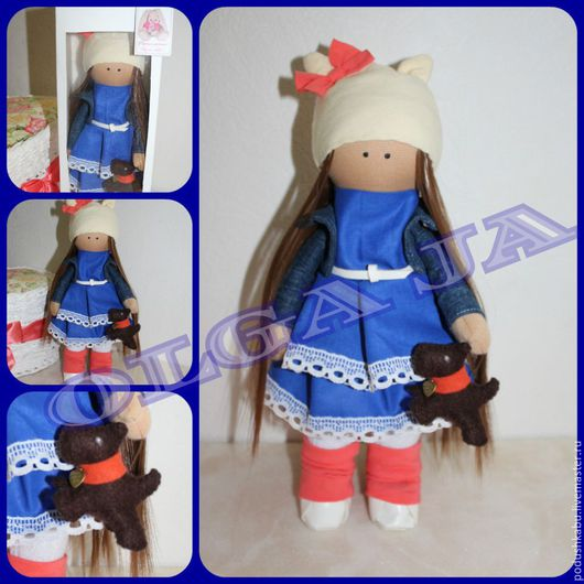 Куклы Тильды ручной работы. Ярмарка Мастеров - ручная работа. Купить кукла текстильная. Handmade. Комбинированный, кукла текстильная
