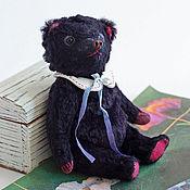 Куклы и игрушки ручной работы. Ярмарка Мастеров - ручная работа Мишка Фиолетовый. Handmade.