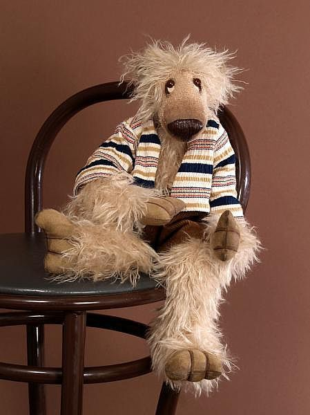 """Мишки Тедди ручной работы. Ярмарка Мастеров - ручная работа. Купить Авторский коллекционный мишка """"Бродяга"""". Handmade. Teddy bear"""