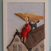Картины и панно ручной работы. Ярмарка Мастеров - ручная работа Свободная. Handmade.