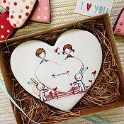 Сувениры и подарки ручной работы. Ярмарка Мастеров - ручная работа Пряник Сердце для тебя. Handmade.