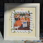 Сувениры и подарки ручной работы. Ярмарка Мастеров - ручная работа Фоторамка детская. Handmade.