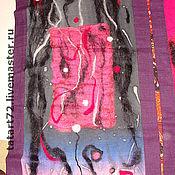 Картины и панно ручной работы. Ярмарка Мастеров - ручная работа восток-дело тонкое( батик войлок триптих ). Handmade.