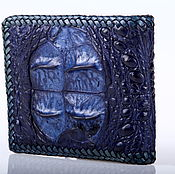 Сумки и аксессуары handmade. Livemaster - original item Braided crocodile leather wallet IMA0213C11. Handmade.