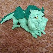 Мягкие игрушки ручной работы. Ярмарка Мастеров - ручная работа Игрушки: Дракон. Handmade.