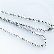 Материалы для творчества handmade. Livemaster - original item Chain, silver, ,50cm. Handmade.