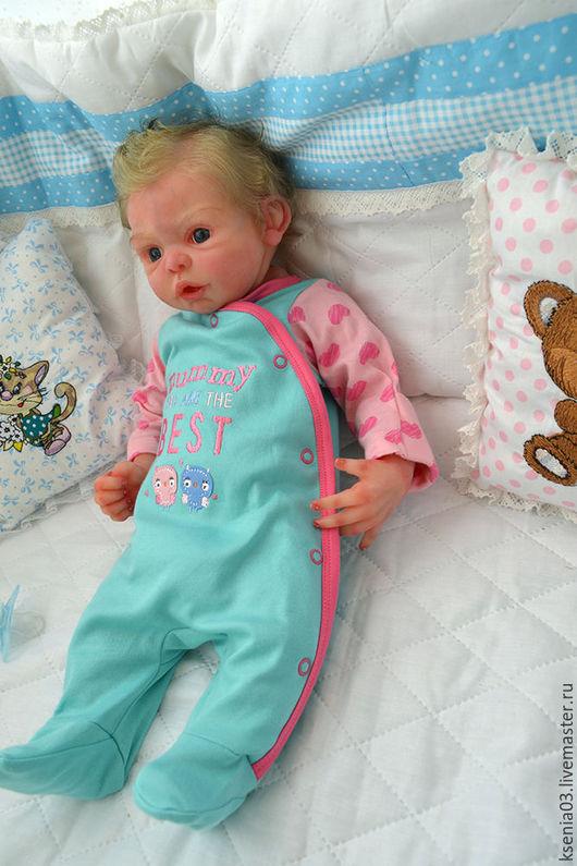 Куклы-младенцы и reborn ручной работы. Ярмарка Мастеров - ручная работа. Купить Авторская силиконовая кукла Патрик. Handmade. Реборн