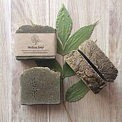 Эвкалипт и чайное дерево. Натуральное, соляное мыло с нуля