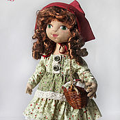 Stuffed Toys handmade. Livemaster - original item Little Red Riding Hood. Handmade.
