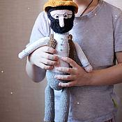 Куклы и игрушки handmade. Livemaster - original item Doll Old man Petson 45 cm. Handmade.