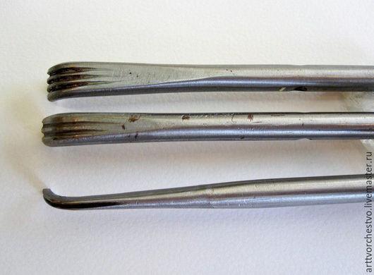Материалы для флористики ручной работы. Ярмарка Мастеров - ручная работа. Купить Японский тройной нож. Handmade. Серый, тройной нож