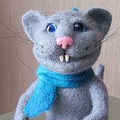 Куклы и игрушки ручной работы. Ярмарка Мастеров - ручная работа Котенок. Handmade.