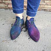 Обувь ручной работы. Ярмарка Мастеров - ручная работа Ботинки валяные демисезонные. Handmade.