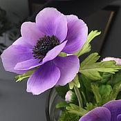 Цветы и флористика ручной работы. Ярмарка Мастеров - ручная работа Анемоне, цветок вдохновения..... Handmade.