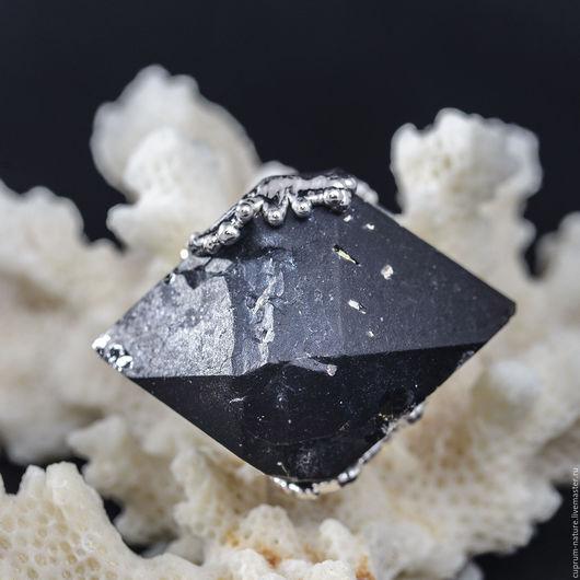 """Кулоны, подвески ручной работы. Ярмарка Мастеров - ручная работа. Купить Кулон """"Морион"""" (натуральные камни, кристаллы"""". Handmade. Черный"""