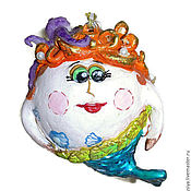 Подарки к праздникам ручной работы. Ярмарка Мастеров - ручная работа новый год елочные игрушки ,Русалка на ветвях сидит.. Handmade.