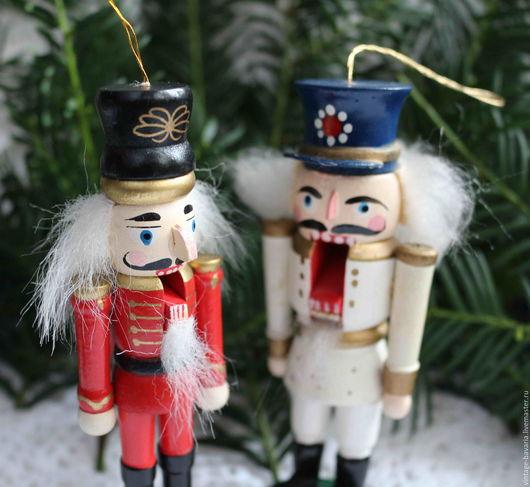 Винтажные куклы и игрушки. Ярмарка Мастеров - ручная работа. Купить Ёлочные игрушки Щелкунчики, Германия. Handmade. Комбинированный, солдатик, на елку