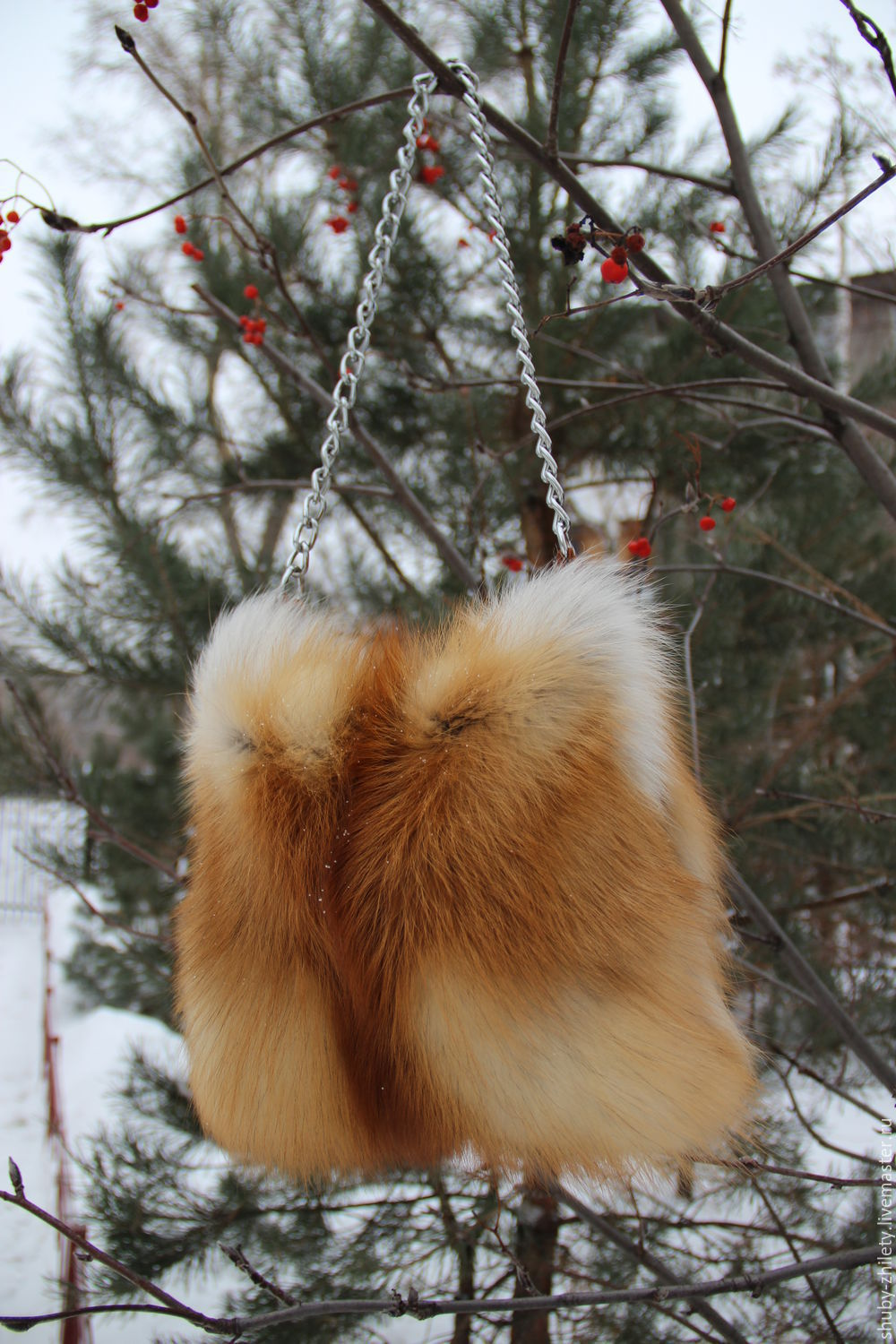 Bag made of Fox fur, Classic Bag, Nizhny Novgorod,  Фото №1