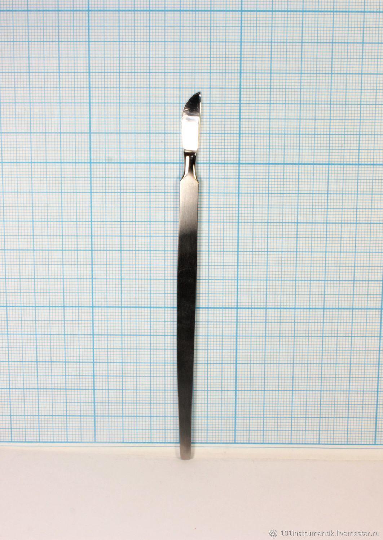 Скальпель глазной брюшистый малый СБ-2 130 мм – купить на Ярмарке Мастеров – JRY60RU   Инструменты, Москва