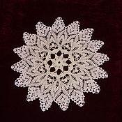 Для дома и интерьера handmade. Livemaster - original item Lace doily crochet No. №40 white. Handmade.