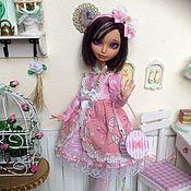 Одежда для кукол ручной работы. Ярмарка Мастеров - ручная работа Комплект одежды : платье+аксессуары. Handmade.