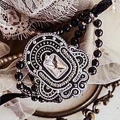 Украшения handmade. Livemaster - original item bracelet . Black bracelet. Black and white bracelet.. Handmade.