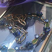 handmade. Livemaster - original item The Aroma Of Provence... Wondrous Necklace... Vintage 1990s... TaraTata. Handmade.