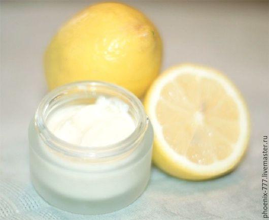 Фото: Натуральный крем для рук и ногтей Лимон (640Х784)