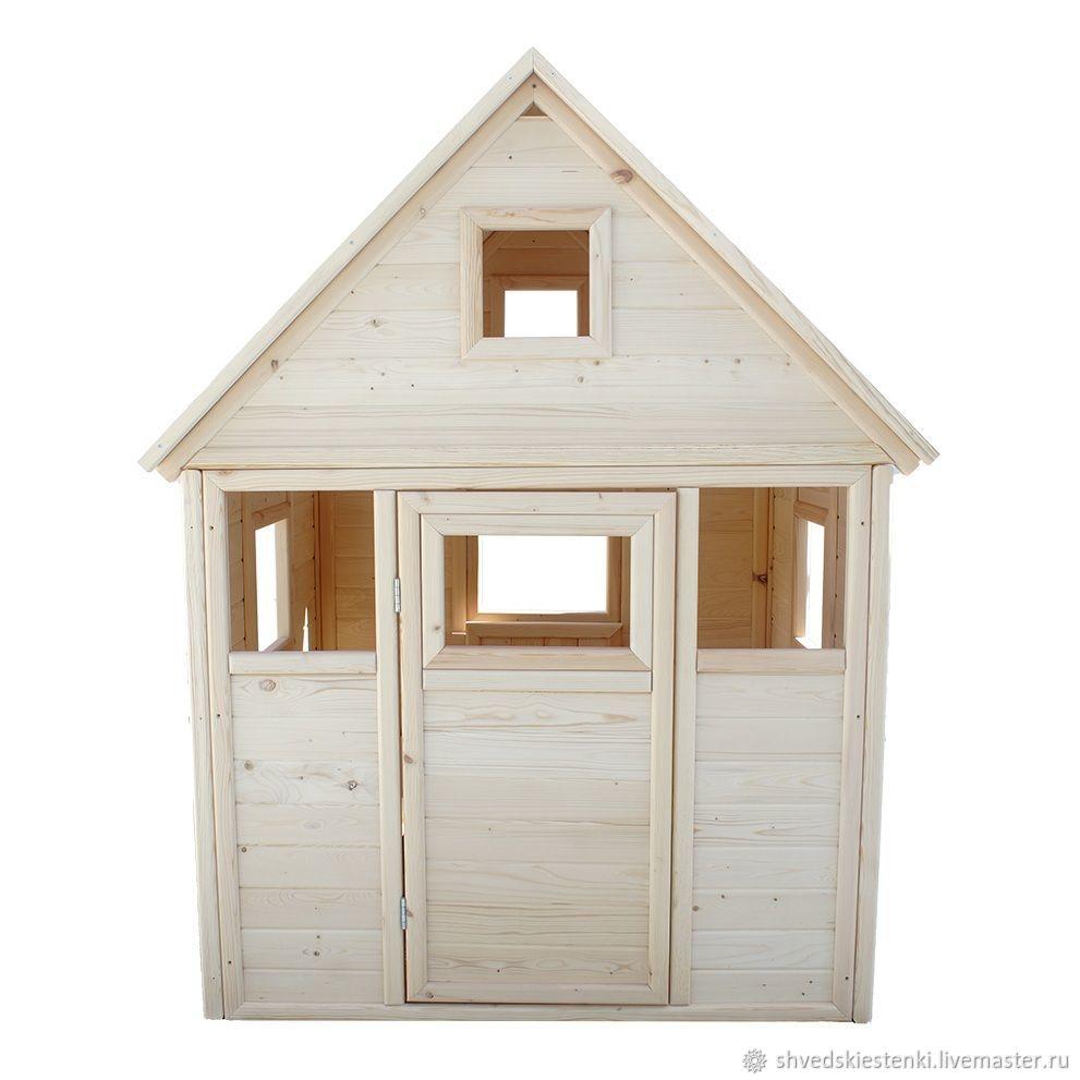 Детский деревянный домик, Мебель, Самара, Фото №1