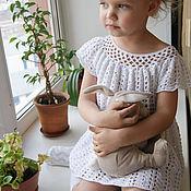 Работы для детей, ручной работы. Ярмарка Мастеров - ручная работа Летнее латье для девочки. Handmade.