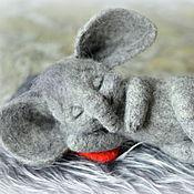 Куклы и игрушки ручной работы. Ярмарка Мастеров - ручная работа Слонное царство. Слон с любовью.. Handmade.
