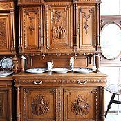 Для дома и интерьера ручной работы. Ярмарка Мастеров - ручная работа буфет антикварный полная реставрация 1. Handmade.