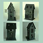 Домики ручной работы. Ярмарка Мастеров - ручная работа Дом - ночник в стиле Гарри Поттера. Handmade.