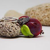 """Украшения ручной работы. Ярмарка Мастеров - ручная работа """"Наливные яблочки"""". Handmade."""