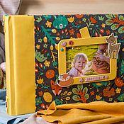 Фотоальбомы ручной работы. Ярмарка Мастеров - ручная работа Детский альбом для фотографий. Handmade.