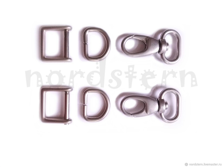 Комплект фурнитуры для сумки или портфеля (ремень 20 мм), Инструменты, Москва, Фото №1
