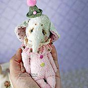 Куклы и игрушки ручной работы. Ярмарка Мастеров - ручная работа Слон карманный Тилли. Или сумочный. Или подушечный. Handmade.