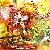 """Картины и панно ручной работы. Ярмарка Мастеров - ручная работа Картина """"Летняя рапсодия"""". Handmade."""