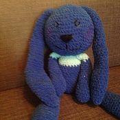 Куклы и игрушки handmade. Livemaster - original item Bunny made of textured yarn. Handmade.
