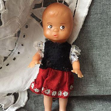 Винтаж ручной работы. Ярмарка Мастеров - ручная работа Кукла-пупсик  Германия. Handmade.