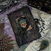 """Блокноты ручной работы. Ярмарка Мастеров - ручная работа Гримуар """"Ведьмины секреты"""" Магический блокнот.. Handmade."""