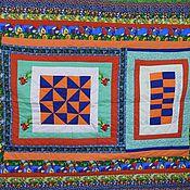 Для дома и интерьера ручной работы. Ярмарка Мастеров - ручная работа Лоскутное одеяло №1. Handmade.