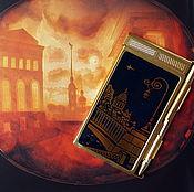 Винтаж handmade. Livemaster - original item Notepad with pen Leningrad, vintage USSR. Handmade.