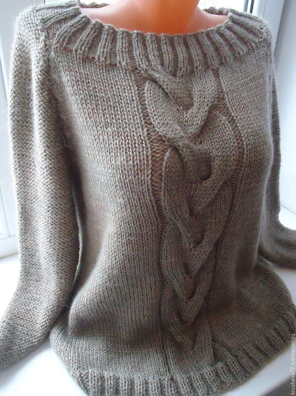 Вязание из мохера свитеров 655