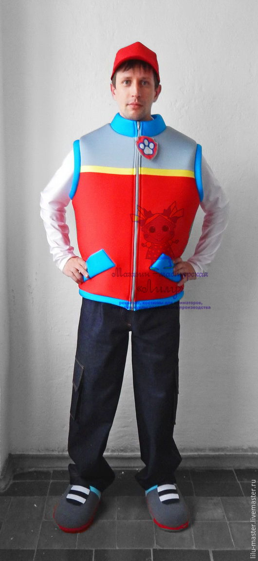 Ryder Quot Paw Patrol Quot Animator Actor Suit Cosplay Masquerade