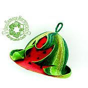 Для дома и интерьера handmade. Livemaster - original item Hat for baths and saunas